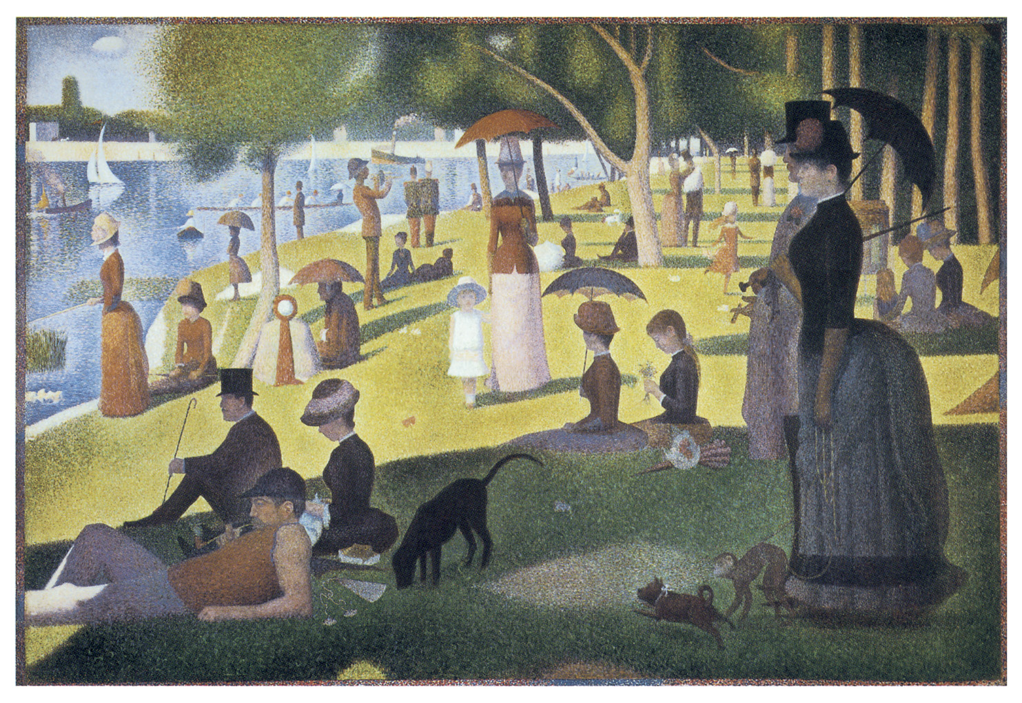 Georges Seurat Was A French Post Impressionist Painter His Style Influenced By The Painters That Is