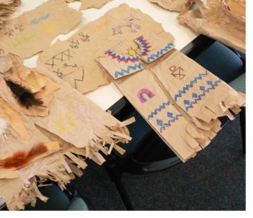Native American Vest Art Lesson Project
